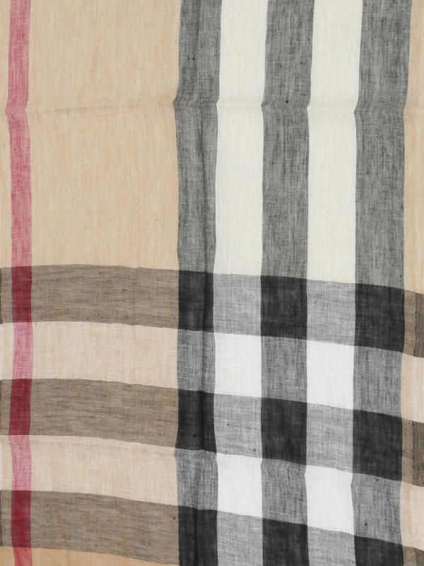 Burberry: Bufandas y pañuelos online - Bufanda Beis Para Unisex