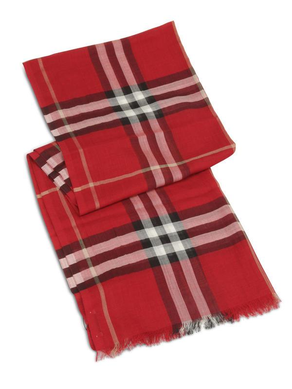 Burberry: Schals online - Schal mit Giant Check-Print