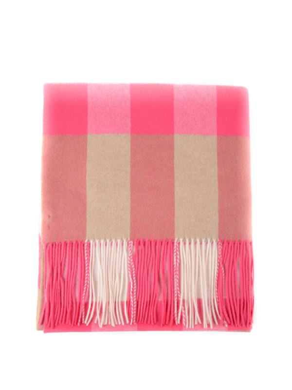 Burberry: Bufandas y pañuelos - Bufanda - Rosado