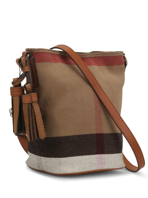 Burberry: shoulder bags online - Susanna Canvas Check bag