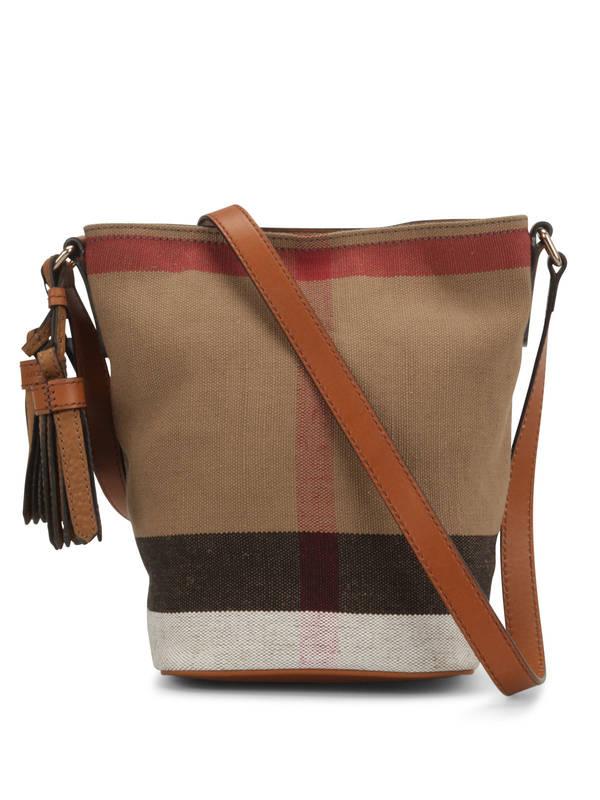 Burberry: shoulder bags - Susanna Canvas Check bag