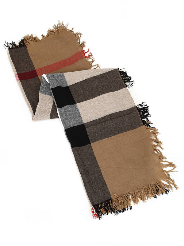 Burberry: Stoles & Shawls online - Check Wool Scarf House Check