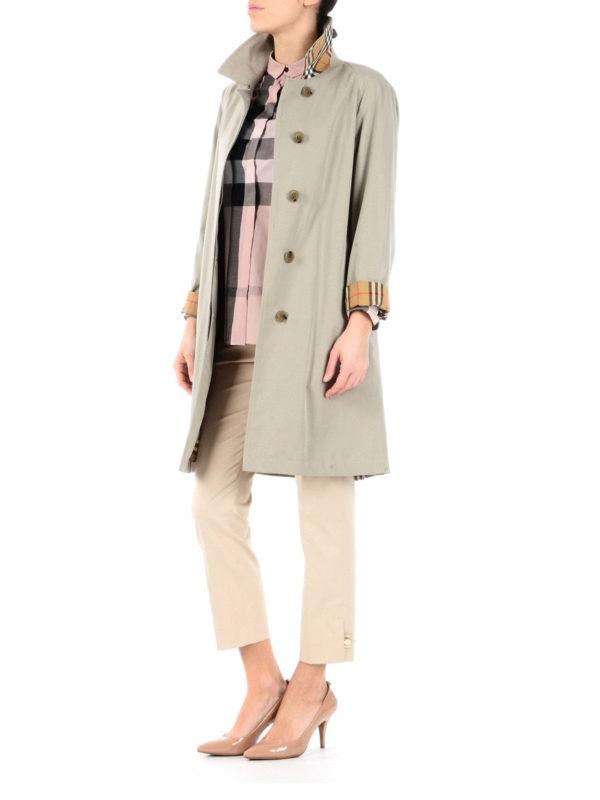 Burberry: trench coats online - The Camden beige car coat