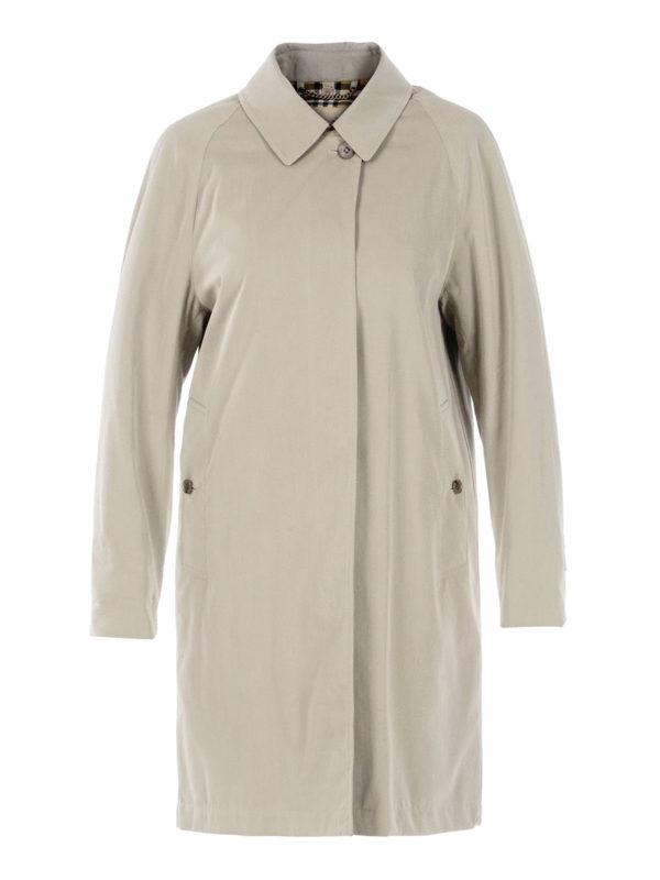 Burberry: trench coats - The Camden beige car coat
