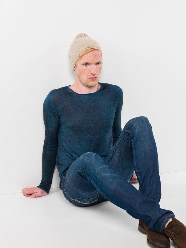 Cable knit beanie shop online: Avant Toi