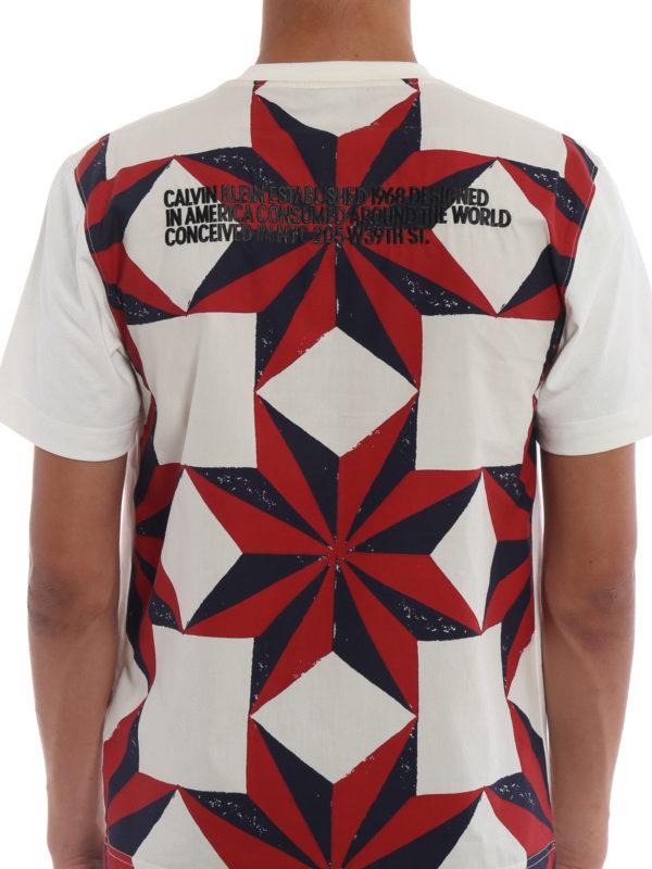 CALVIN KLEIN buy online T-Shirt - Weiß
