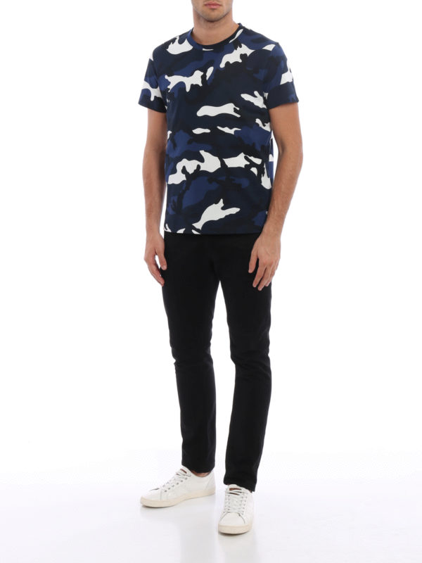 T-Shirt - Blau shop online: Valentino