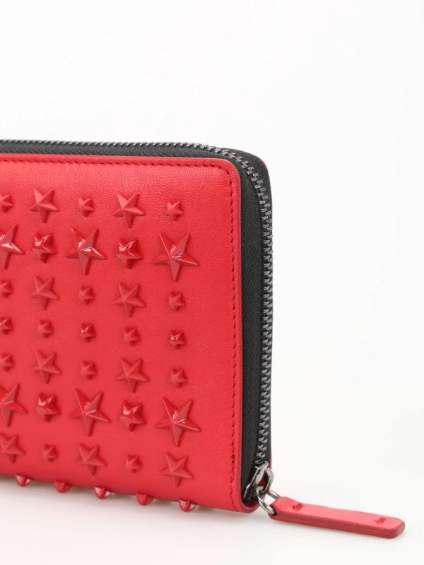 Portemonnaie - Rot shop online: Jimmy Choo