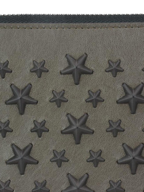Carnaby wallet with mixed stars shop online: JIMMY CHOO