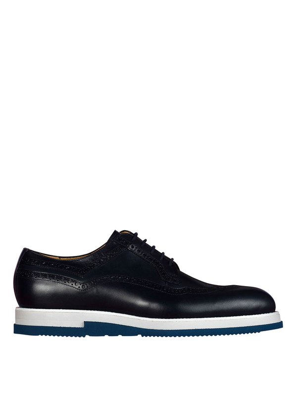 Cesare Paciotti: lace-ups shoes - Mix brogues