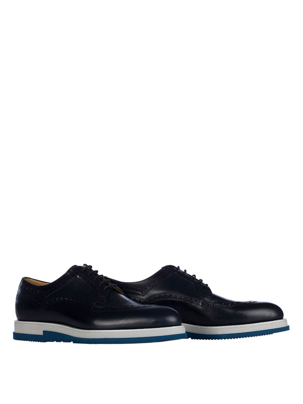 Cesare Paciotti: lace-ups shoes online - Mix brogues