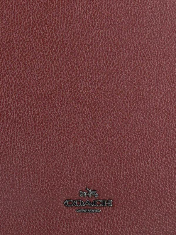 Schultertasche - Dunkelrot shop online: COACH