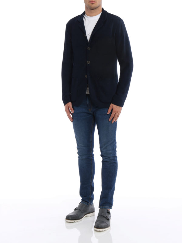 Blazer - Einfarbig shop online: Giorgio Armani