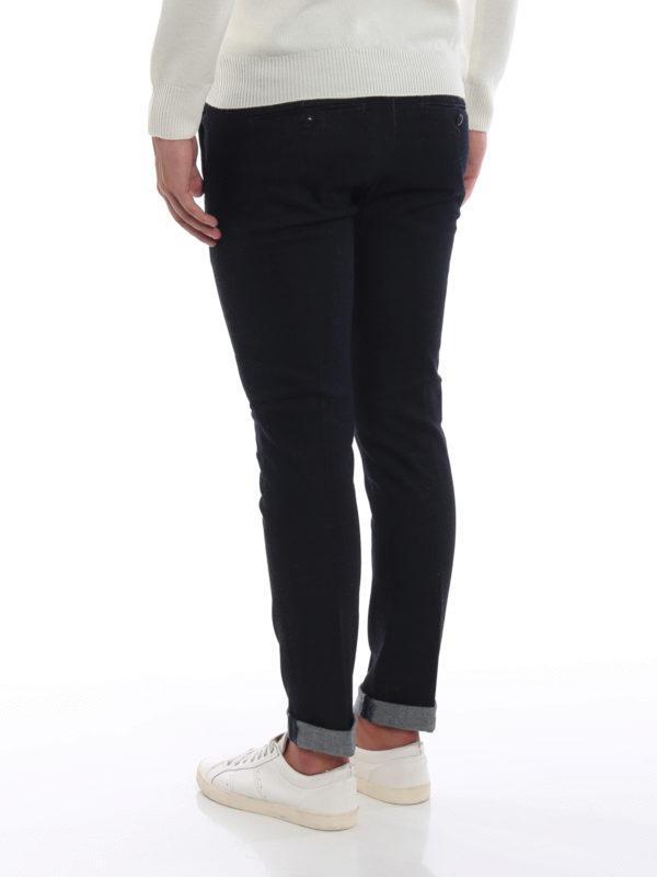 Skinny Jeans - Dunkles Jeansblau shop online: DONDUP