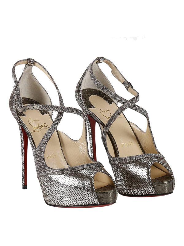online retailer 4d3b7 e942b Christian Louboutin - Mira Bella platform sandals - sandals ...