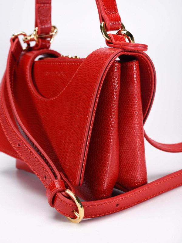 Circle lizard skin mini bag shop online: L