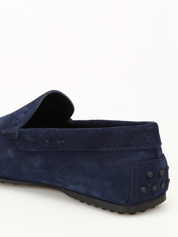 City Gommino galassia suede loafers shop online: TOD