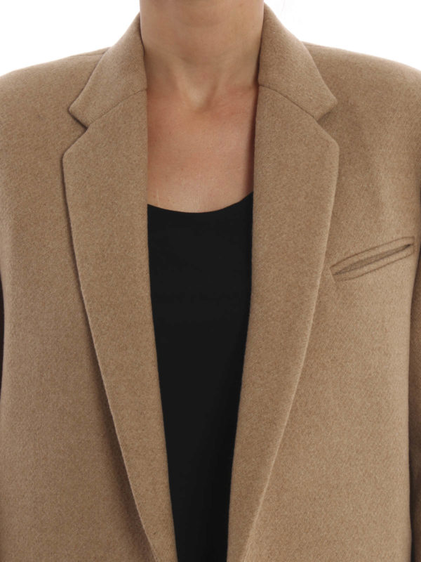 Céline buy online Structured wool coat