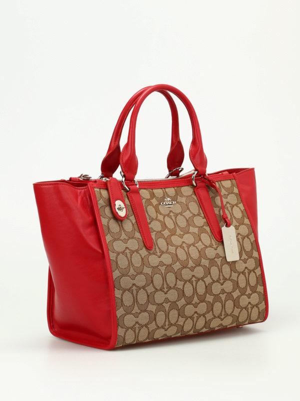 Coach: Handtaschen online - Shopper - Rot