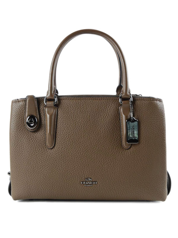 Coach: Handtaschen - Shopper - Braun