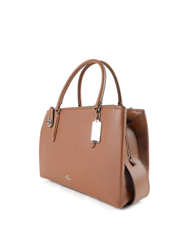 Coach: Handtaschen online - Shopper - Hellbraun