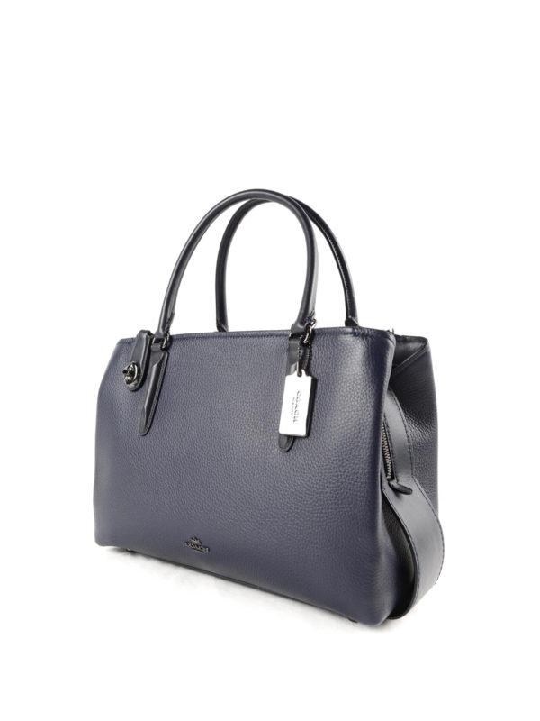 Coach: Handtaschen online - Shopper - Blau
