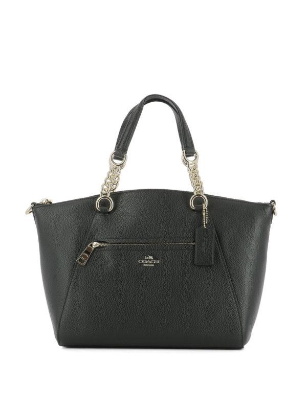 Coach: Handtaschen - Shopper - Schwarz