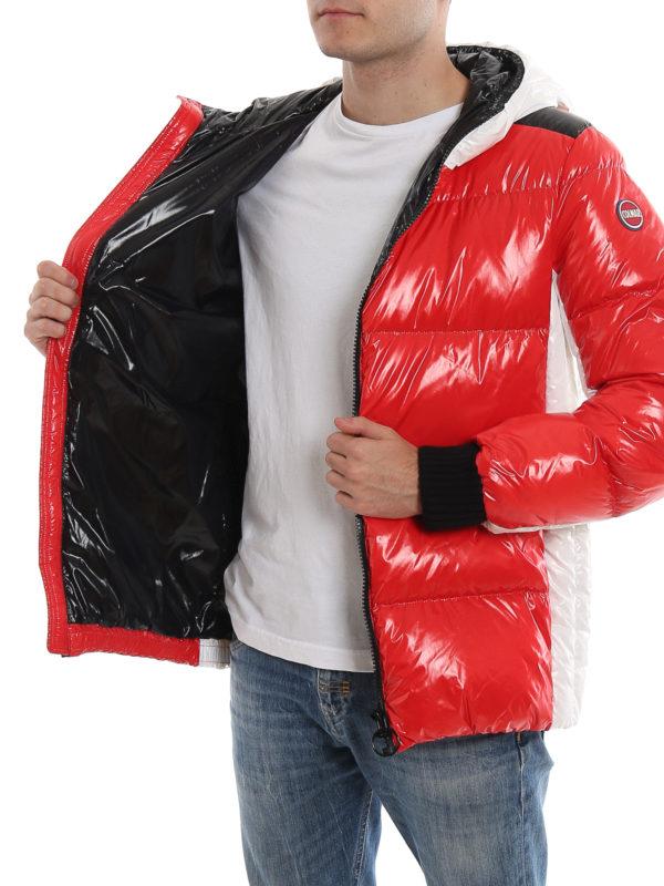 best service 1954f 4620e Colmar Originals - Glossy nylon hooded puffer jacket ...