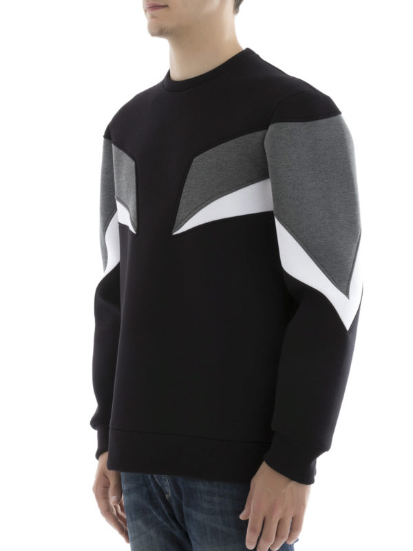 Sweatshirt - Schwarz shop online: NEIL BARRETT