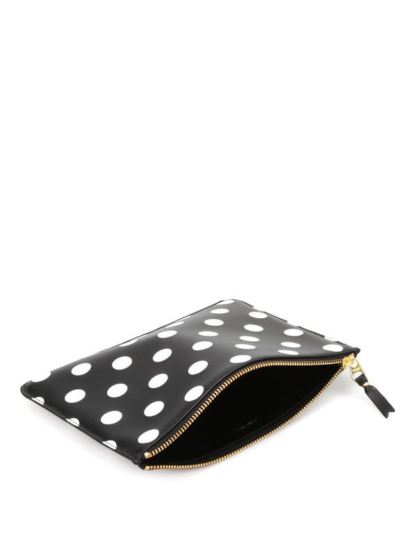 Comme Des Garcons buy online Polka dot pouch