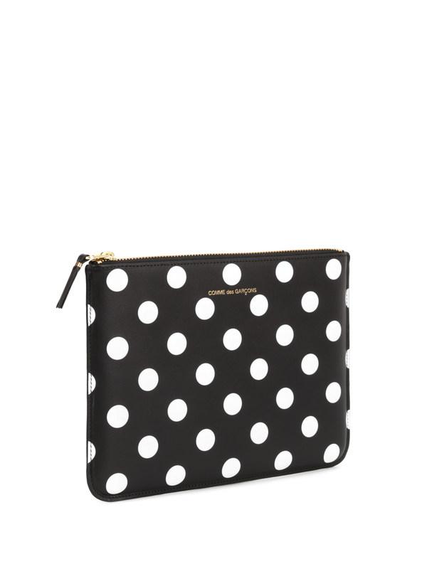 Comme Des Garcons: wallets & purses online - Polka dot pouch