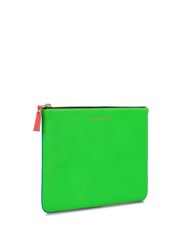 Comme Des Garcons: wallets & purses online - Super Fluo pouch