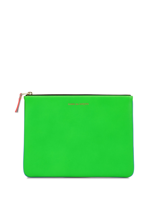 Comme Des Garcons: wallets & purses - Super Fluo pouch
