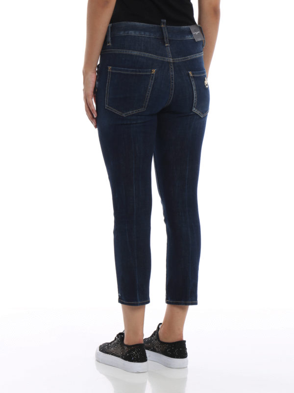 Cool Girl - Dunkles Jeansblau shop online: DSQUARED2