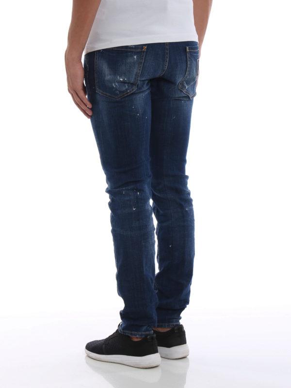Skinny Jeans - Jeansblau shop online: DSQUARED2