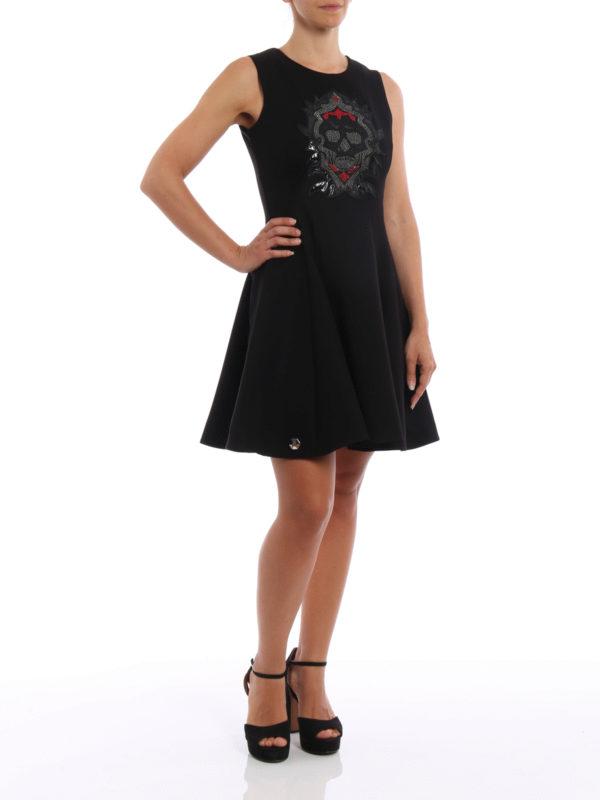 Kurzes Kleid - Schwarz shop online: Philipp Plein