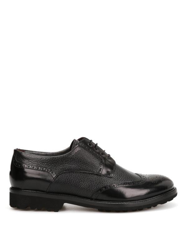 Corneliani: lace-ups shoes - Identity derby shoes
