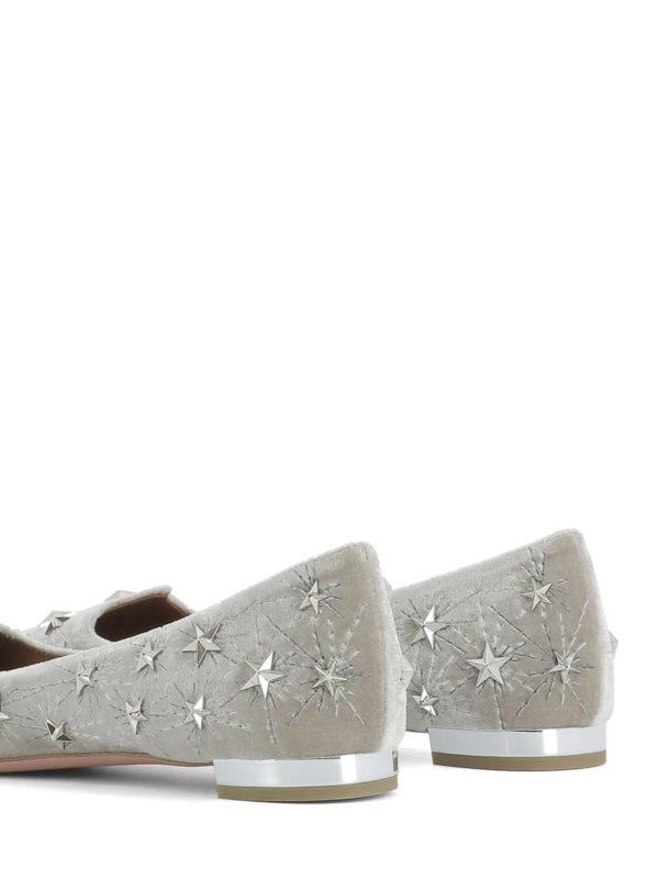 Ballerinas - Grau shop online: Aquazzura