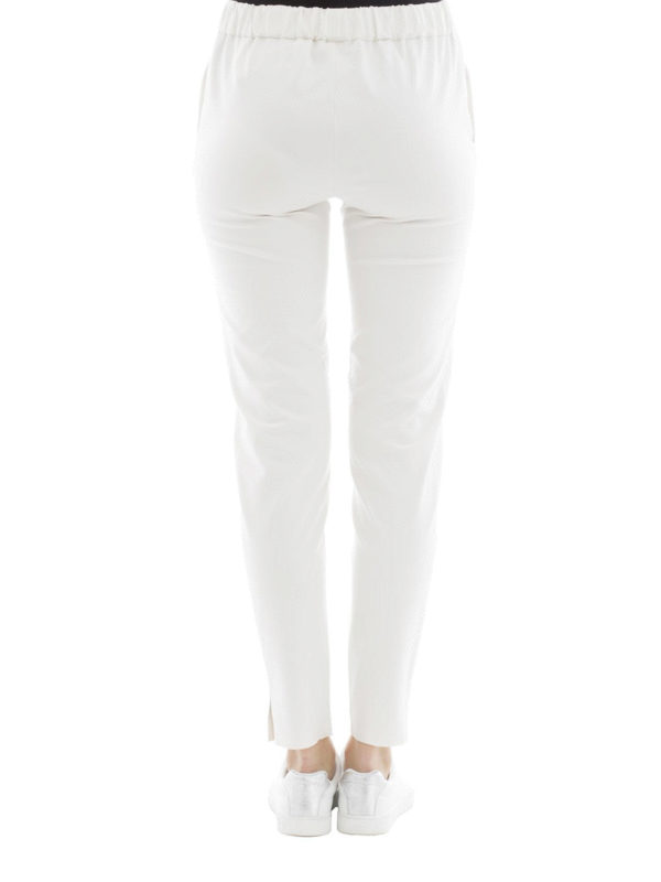 Cotton blend sporty trousers shop online: FABIANA FILIPPI
