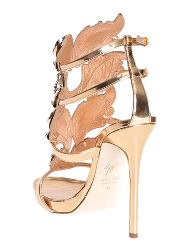Sandalen - Gold shop online: Giuseppe Zanotti