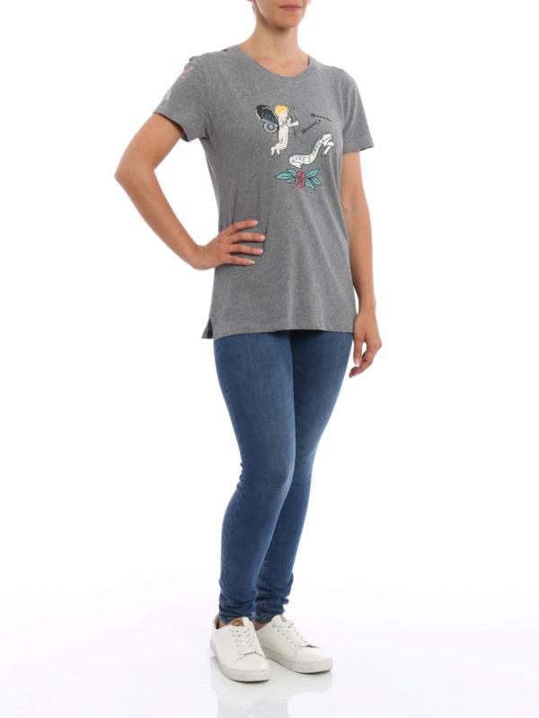 T-Shirt - Gemustert shop online: Valentino