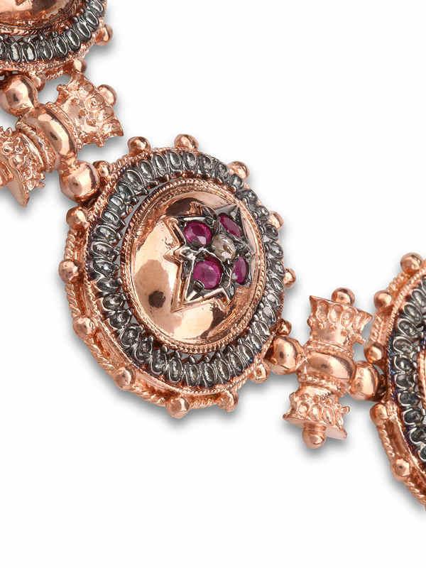De Maria: Armbaender und Armkettchen online - Rosé Silber Armband