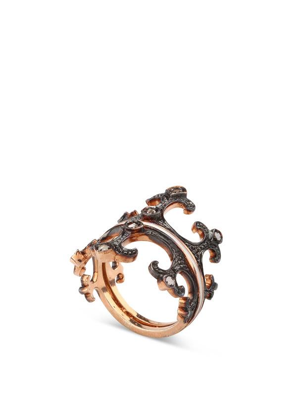 De Maria: Ringe online - Silber Kronenring