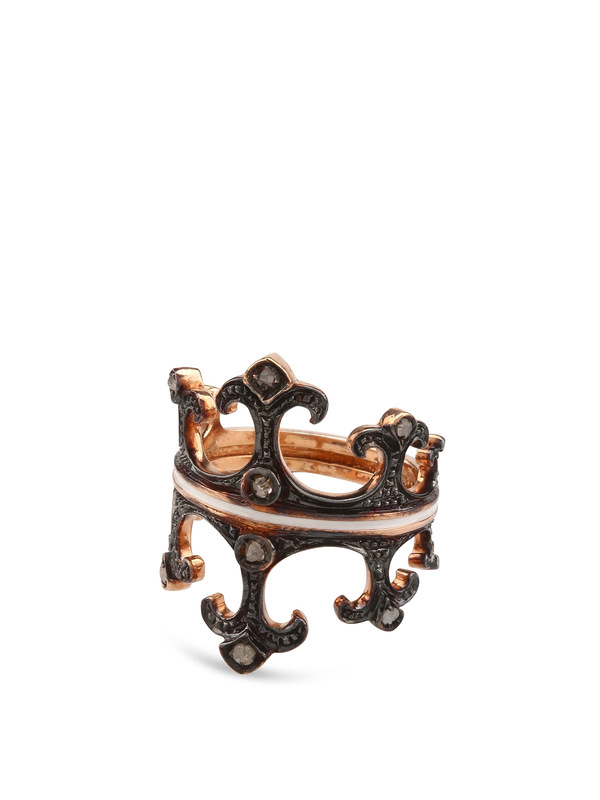 De Maria: Ringe - Silber Kronenring