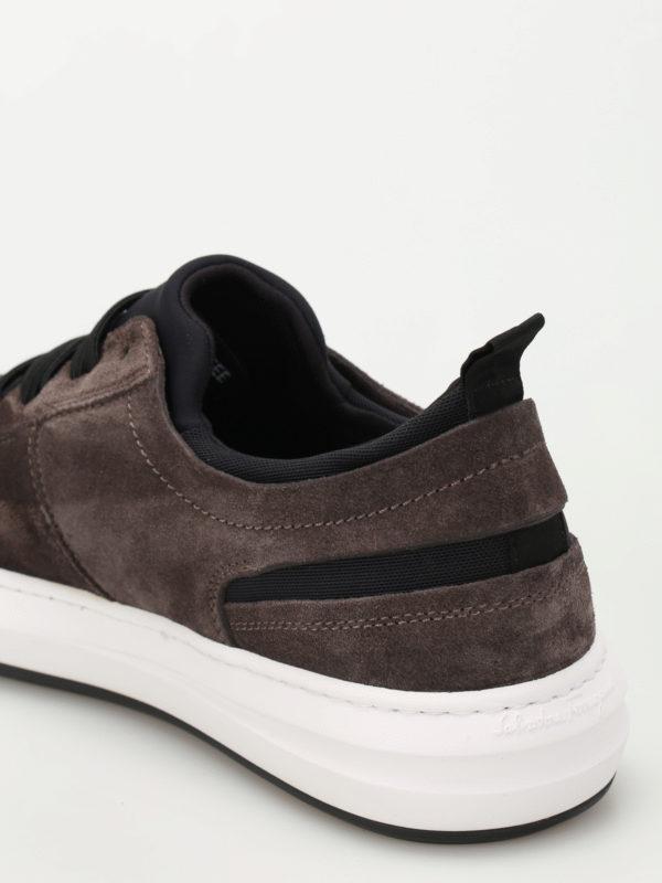 Sneaker - Dunkelgrau shop online: Salvatore Ferragamo