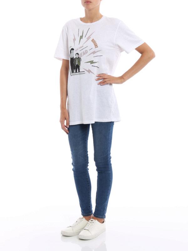 T-Shirt - Weiß shop online: isabel marant etoile
