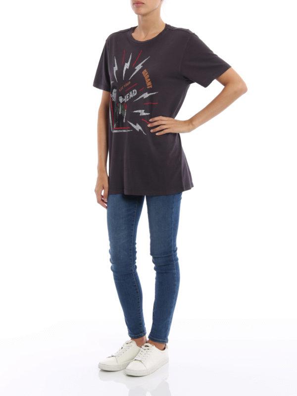 T-Shirt - Dunkelgrau shop online: isabel marant etoile