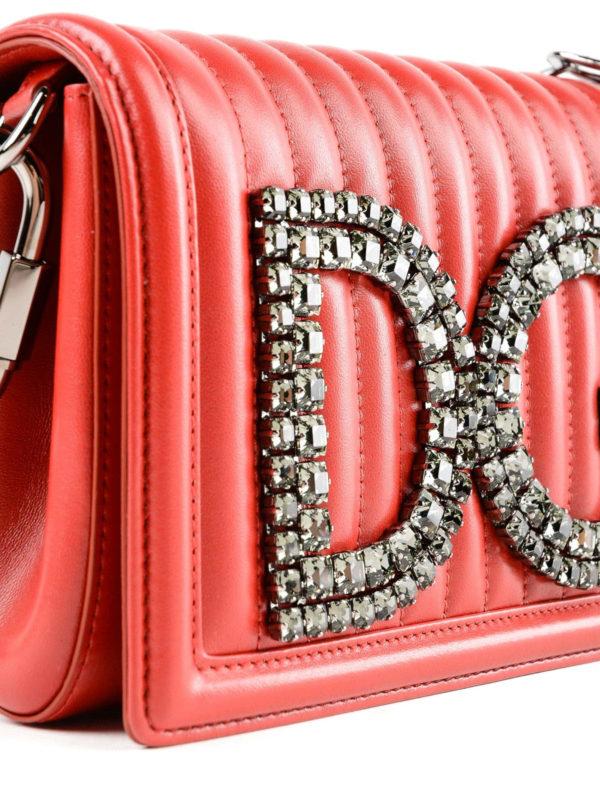 Schultertasche - Rot shop online: DOLCE & GABBANA