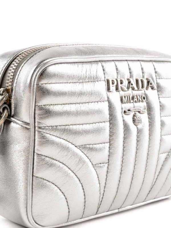 Umhängetasche - Silber shop online: PRADA