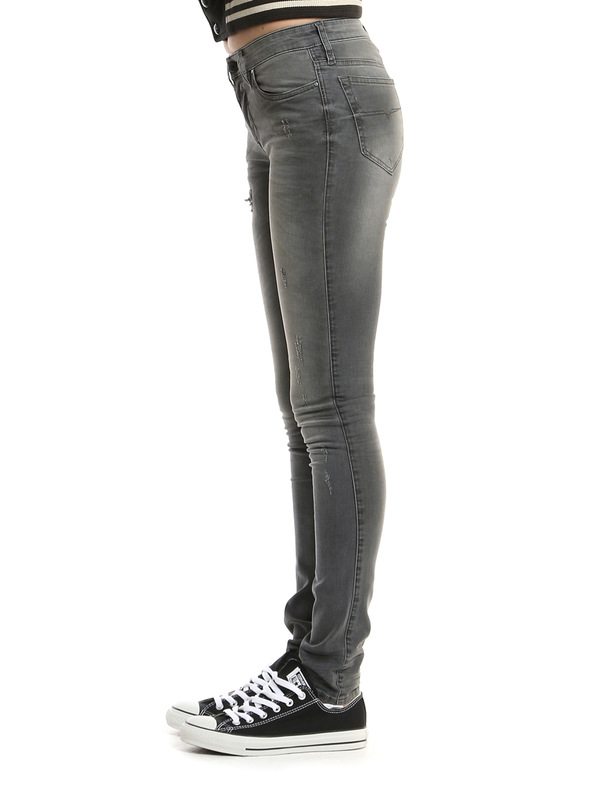 iKRIX DIESEL: Skinny Jeans Fur Damen - Grau